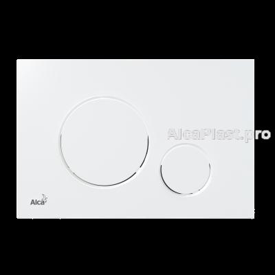 Кнопка управління AlcaPlast M676 білий мат