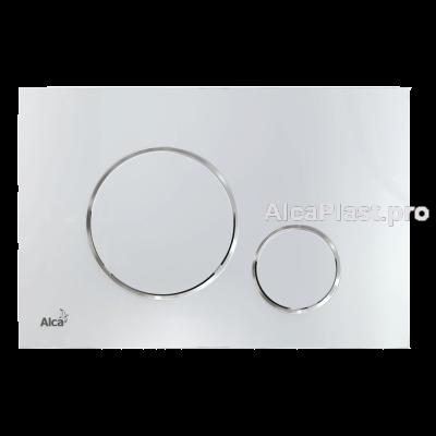 Кнопка управління AlcaPlast M671 хром-глянець