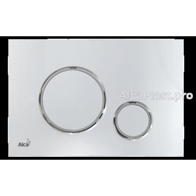 Кнопка управління AlcaPlast M771 хром-глянець / xром-мат