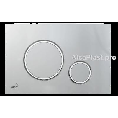 Кнопка управління AlcaPlast M772 xром-мат / хром-глянець