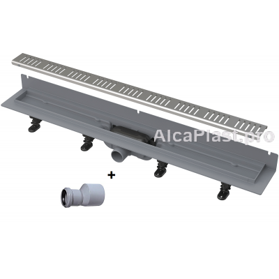 Водовідвідний жолоб AlcaPlast APZ30-850 з порогами для перфорованої решітки