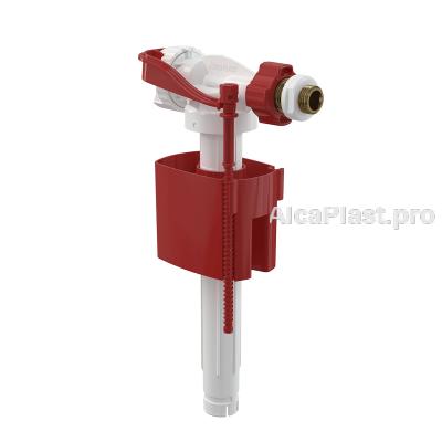 """Впускний механізм AlcaPlast A160P-3/8"""" бічний підвід метал для інсталяцій і пластикових бачків"""
