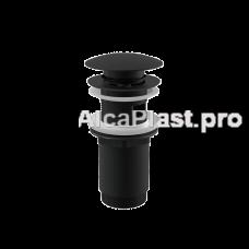 Водозлив Alcaplast A392BLACK CLICK-CLACK