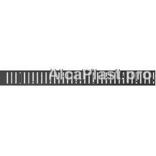 Водостічна решітка AlcaPlast PURE-550BLACK