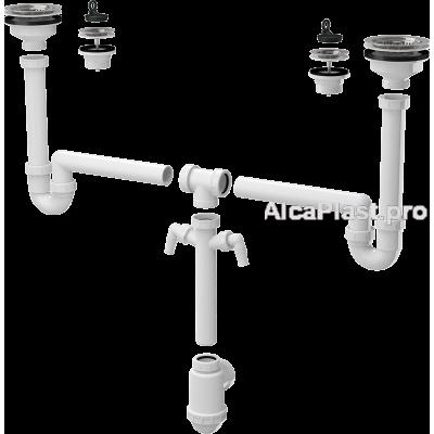Універсальний комплект для мийки Alcaplast A8000