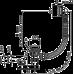 Сифон для ванни AlcaPlast A504CKM-120 CLICK-CLACK, хромований