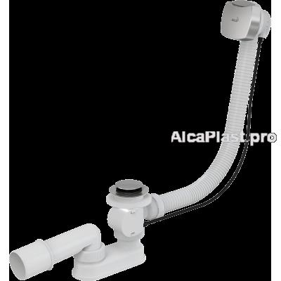 Сифон для ванни AlcaPlast A51CR, автомат, хромований