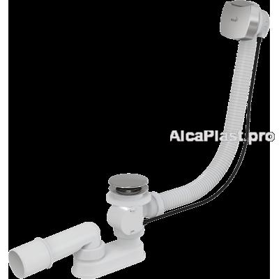 Сифон для ванни AlcaPlast A51CRM, автомат, хромований