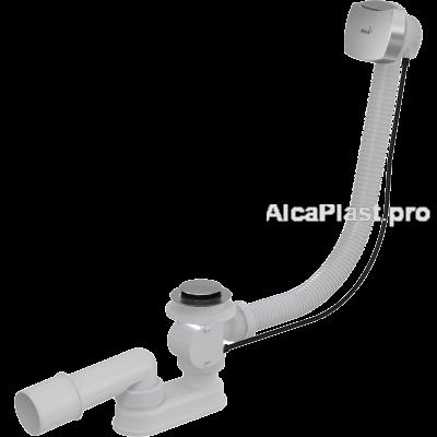 Сифон для ванни AlcaPlast A55K NEW, автомат, хромований