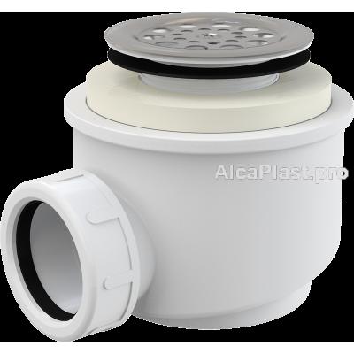 Сифон AlcaPlast для піддону A46-50 з нержавіючою решіткою d50