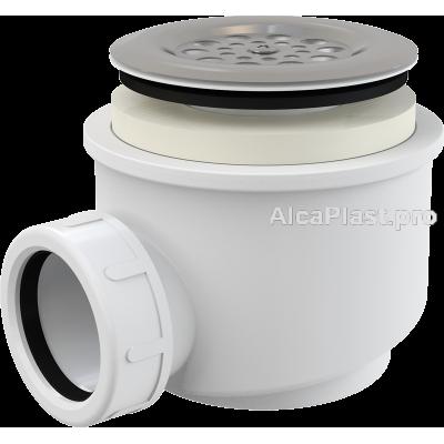 Сифон для піддону AlcaPlast A46-60 з нержавіючою решіткою d60