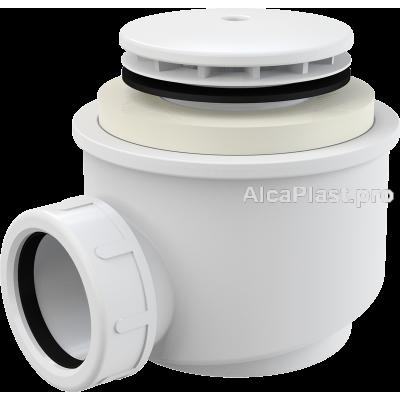 Сифон для піддону AlcaPlast A47B-50 білий d50