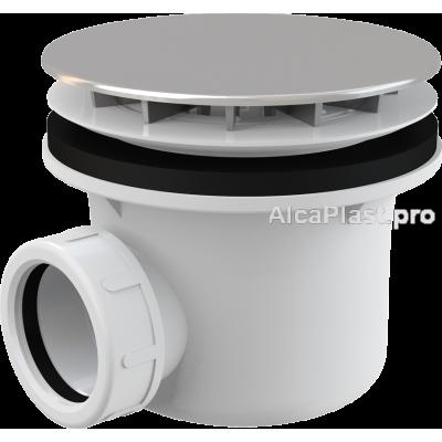 Сифон для піддону AlcaPlast A49CR хромований