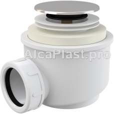 Сифон для піддону AlcaPlast A466-50 click-clack