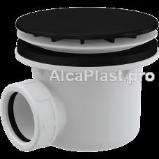 Сифон для піддону AlcaPlast A49BLACK