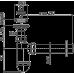 Сифон для умивальника AlcaPlast A41, d40 з нержавіючою решіткою d63