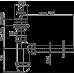 Сифон для умивальника AlcaPlast A420, d32 з пластмасовою решіткою d63