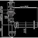 Сифон для умивальника AlcaPlast A42, d40 з пластмасовою решіткою d63