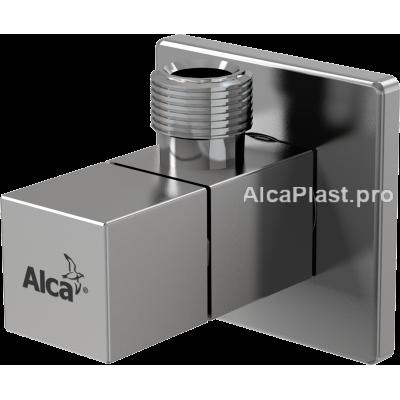 """Кутовий вентиль AlcaPlast ARV002 1/2""""x3/8"""" чотиригранний"""
