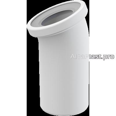 Коліно для унітазу 22° AlcaPlast A90-22
