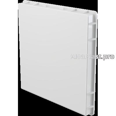 Дверцята для ванної AlcaPlast AVD003 під плитку 300x300, Біла