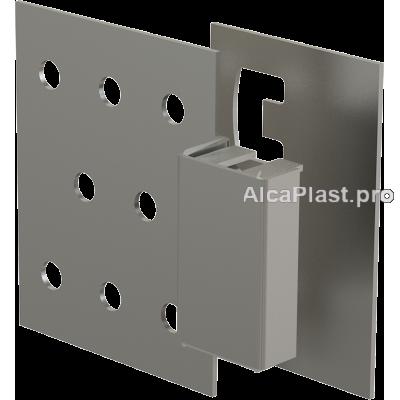 Магніт BASIC для ванни на дверцята (під плитку) вертикально-висувний AlcaPlast AVD005