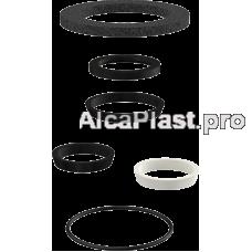 Комплект додаткових прокладок до сифону для умивальника Alcaplast P066