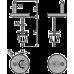 Петлі для A64, A65, A66, A67 Alcaplast Z0137-ND
