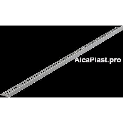 Рейка з нержавіючої сталі для підлоги з ухилом, 1000 мм, ліва AlcaPlast APZ901M / 1000