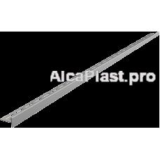 Рейка з нержавіючої сталі для підлоги з ухилом, 1000 мм, права AlcaPlast APZ902M / 1000