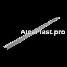 Рейка з нержавіючої сталі для підлоги з ухилом, 1200 мм, права AlcaPlast APZ904M / 1200