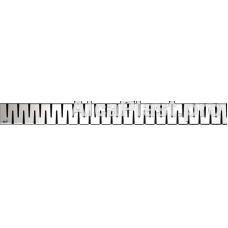 Водостічна решітка AlcaPlast ZIP-750M