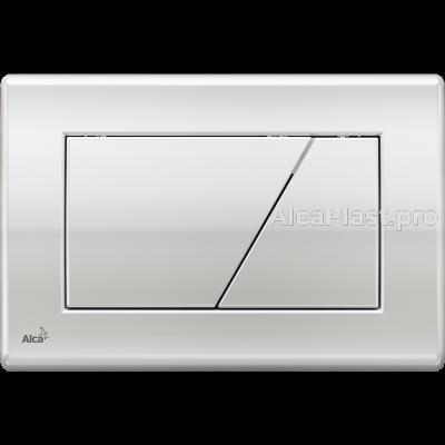 Кнопка управління AlcaPlast M171 хром-блискуча