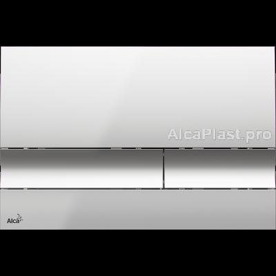 Кнопка управління AlcaPlast M1721 хром-глянсова