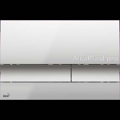 Кнопка управління AlcaPlast M1722 хром-матова