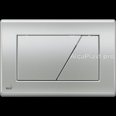 Кнопка управління AlcaPlast M172 хром-матова
