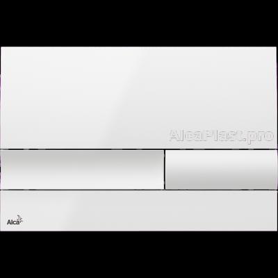 Кнопка управління AlcaPlast M1730 біла