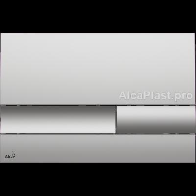 Кнопка управління AlcaPlast M1732 хром-матова