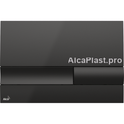 Кнопка управління AlcaPlast M1738 чорна