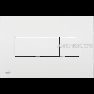 Кнопка управління AlcaPlast M370 біла
