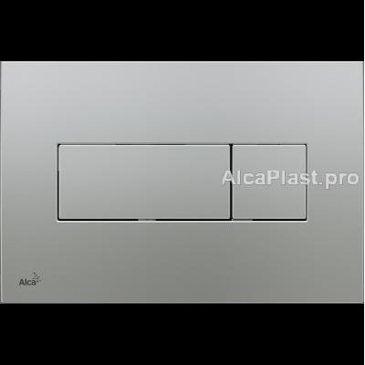 Кнопка управління AlcaPlast M372 хром-матова