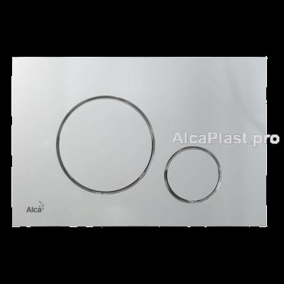 Кнопка управління AlcaPlast M672 xром-мат