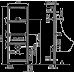 Інсталяція AlcaPlast A107/1120 для пісуара