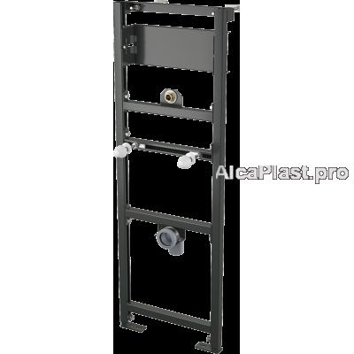 Інсталяція AlcaPlast A107S/1200 для пісуара з можливістю підключення сенсорного змиву