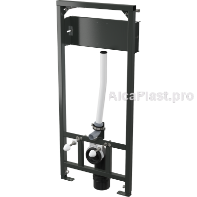 Інсталяція AlcaPlast A114S/1200 для підвісного унітазу і сенсороного пристрою