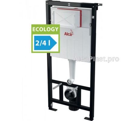Інсталяція AlcaPlast AM101/1120E ECOLOGY для підвісного унітазу