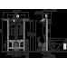 Інсталяція AlcaPlast A102/1000 для санітарних вузлів