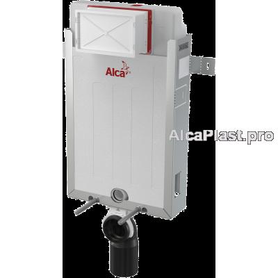 Прихована система інсталяції AlcaPlast AM115/1000 Renovmodul для підвісного унітазу для замуровування в стіну