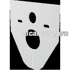 Звукоізоляційна плита для підвісного унітазу і біде AlcaPlast M91