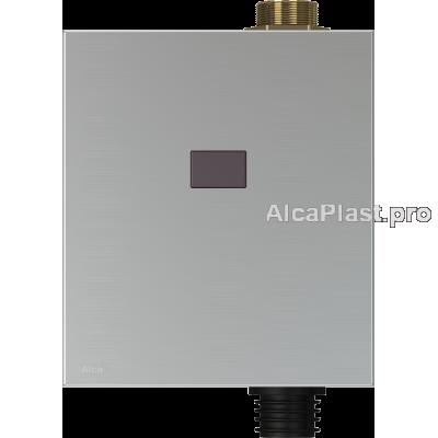 Автоматична система змиву AlcaPlast ASP3-KB туалетного змиву, 6V (працює на батарейках) метал